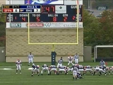 Robert Morris-Saint Francis (PA) Football Highlights (10/17/09)
