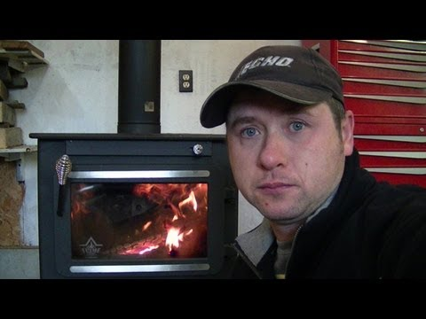 - My New Wood Stove And Explanation Of Installation Codes - YouTube