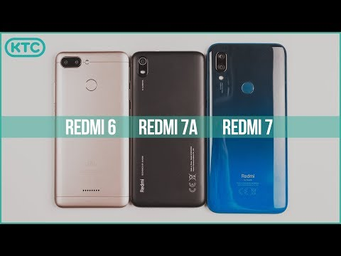 Xiaomi Redmi 7A Vs Redmi 7 Vs Redmi 6