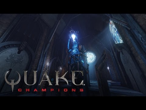 Here's a Look at Quake Champions' 'Blood Covenant' Arena