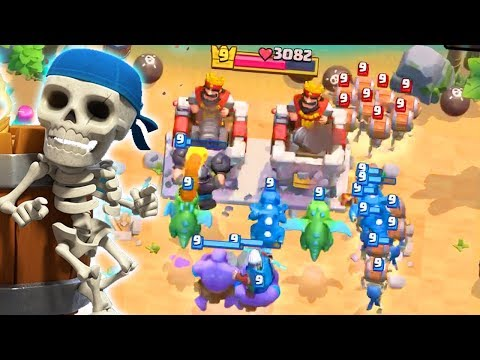 THIS IS MADNESS! Ft That One Guy! | Clash Royale Wall Breakers Island Dash
