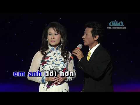 Karaoke Hái Hoa Rừng Cho Em Song Ca - Chế Linh Thiên Trang Beat Chuẩn
