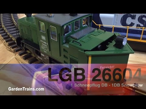 LGB 26604 Snowplow - Unboxing