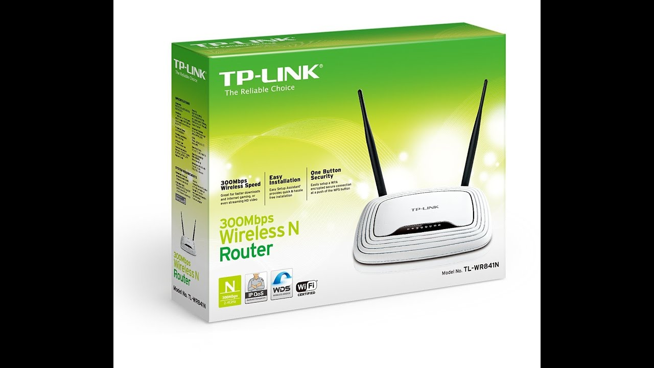 Tp link wr841n wr841nd 300mbps wifi router overview setup and tp link wr841n wr841nd 300mbps wifi router overview setup and configuration youtube greentooth Images