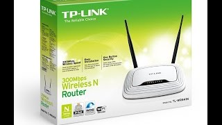 TP-Link WR841N / WR841ND 300Mbps Wifi Router Overview Setup And Configuration