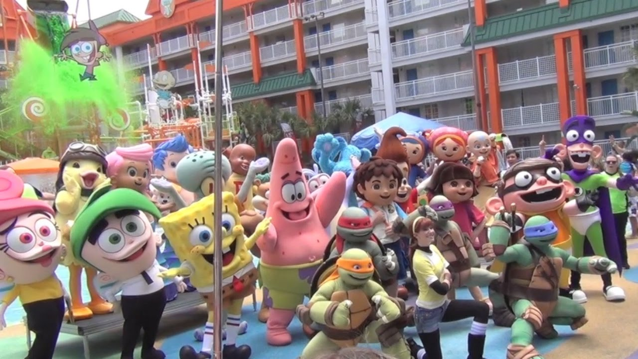 Nickelodeon hotel celebrates 10th birthday with special for Character hotel
