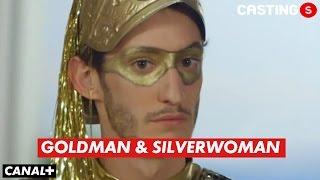 Leïla Behkti et Pierre Niney - Casting(s) Goldman & Silverwoman