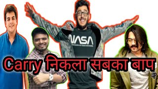 Who is No.1 YouTuber  of India। carryminati And Amit Bhadana Aashis।  Top 5 YouTuber in India