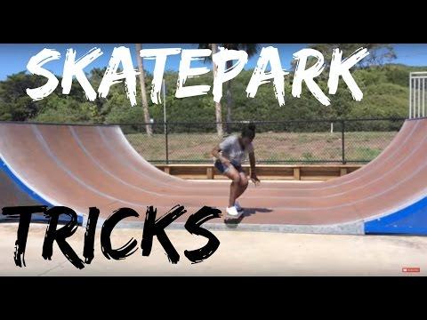 BEST Skatepark Tricks! | SkyeSkatesTv