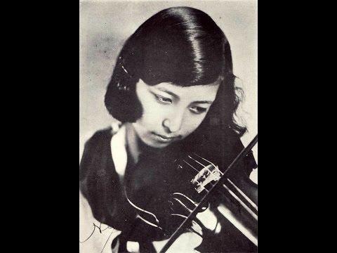 諏訪根自子 Nejiko Suwa - The Swan 白鳥(Saint-Saëns)- 1935