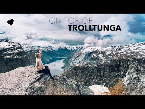 NORWAY VLOG - at the amazing Trolltunga