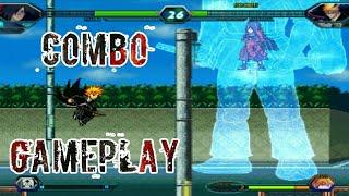 Madara Combo Gameplay - Bleach vs Naruto 3.2