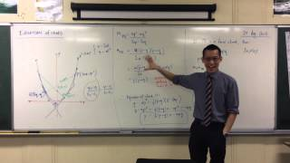 Parametric Equation of Chord (2 of 2: Point-Gradient Form)