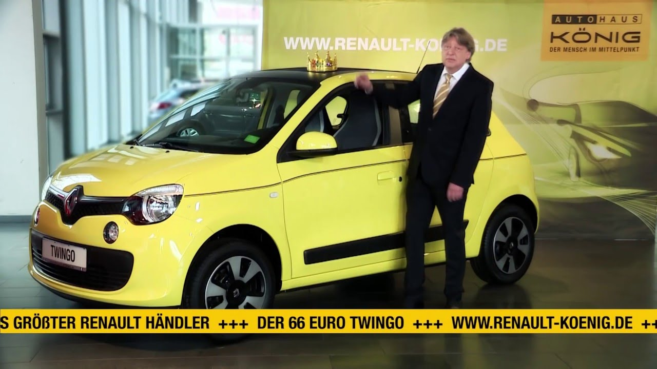 der renault twingo f r 66 mtl leasingrate tv spot angebot ist bereits abgelaufen youtube. Black Bedroom Furniture Sets. Home Design Ideas