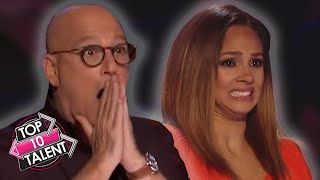 TOP 10 DANGEROUS Auditions Go HORRIBLY Wrong On Got Talent!