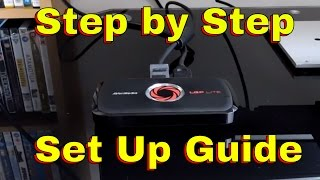 step by step guide to set up your avermedia lgp lite