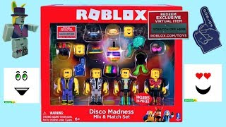 Roblox Disco Madness Playset, Unboxing & Toy Bewertung