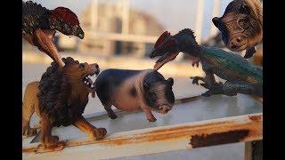 КОРОЛЕВА СВИНЬЯ! ТОЛСТАЯ НА ТРОНЕ! Динозавры и животные. Мультики