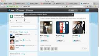 Create Twitter Account For Business: Social Media Twitter Video Tutorial
