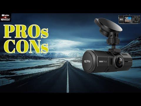 Best Dash Cam For Uber Drivers | Vantrue N2 Pro Dual Dash Cam | Best Rideshare Camera