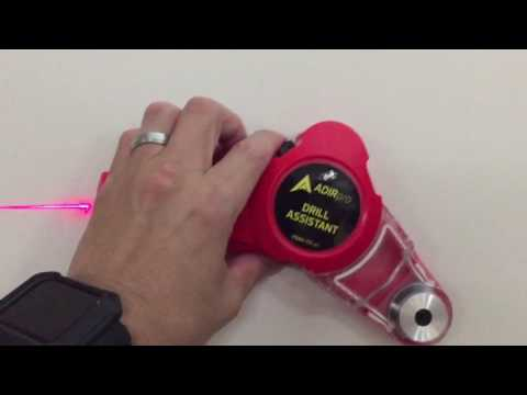 Adirpro Drill Assistant with Laser Level