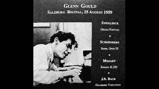 Schoenberg Suite,Opus 25 / Glenn Gould 1959