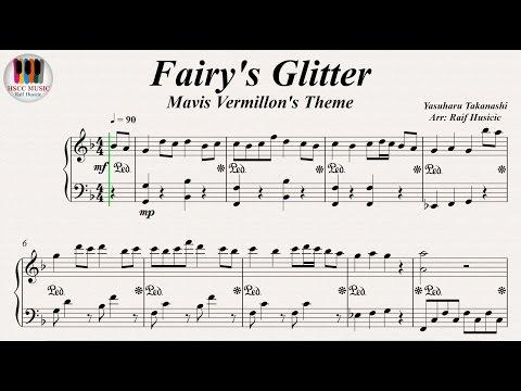 Fairy's Glitter  - Mavis Vermillon Theme (メイビス・ヴァーミリオン) - 高梨 康治 (Yasuharu Takanashi), Piano