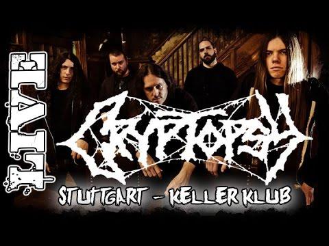 Cryptopsy Live @KellerKlub Stuttgart 05.08.2015 - Dani Zed - Death Metal
