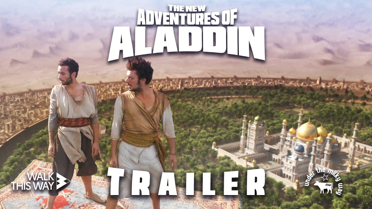 The new adventures of Aladdin - Trailer