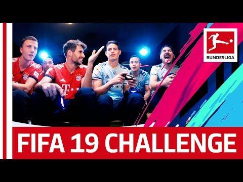 FC Bayern München - EA FIFA 19 Challenge - James & Thiago vs. Gnabry & Martinez