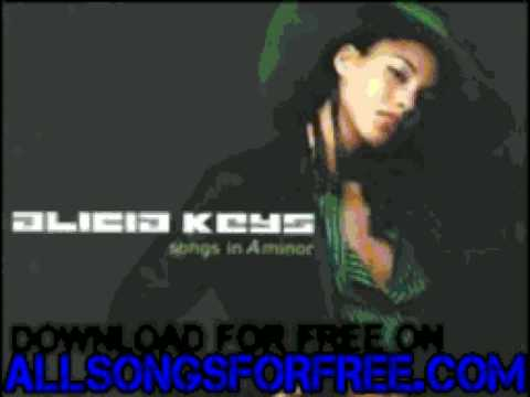 alicia keys  piano & i  Songs In A Minor