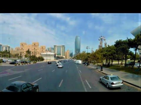 Baku City Tour | Baku ( Baki ) - Capital of Azerbaijan