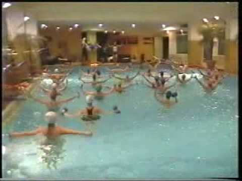 aqua aerobics the most dynamic(in Sofia).avi