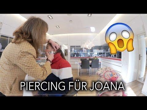 Ein Piercing für Joana - Familien Alltag - Vlog#1089 Rosislife
