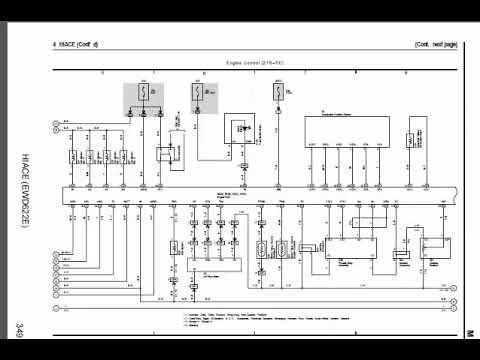 toyota hilux  hiace wiring diagram دفيرة الكهرباء لتويوتا هايلوكس و هياس