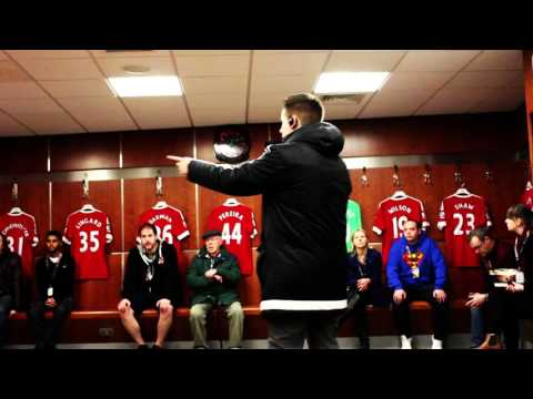 OLD TRAFFORD STADIUM TOUR | MANCHESTER UNITED