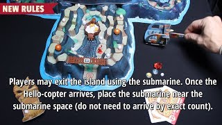 Fireball Island: The Curse of Vul-Kar - Spider Springs - How to play