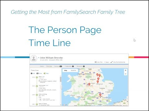 getting the most from familysearch familytree the person page