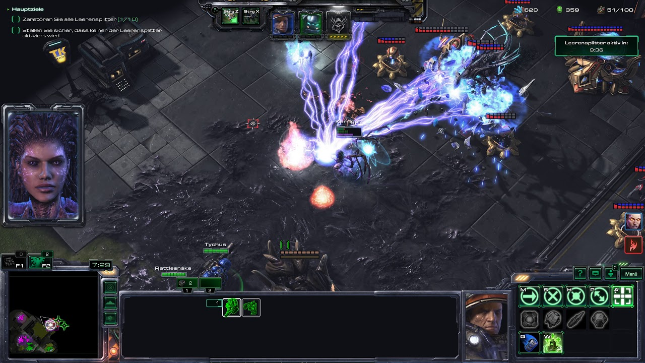 Starcraft 2 Coop Brutal Random (4K) - Journey to Level 1000