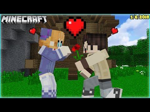 Khi Nấm tỏ tình với Lucy trong Minecraft - Lucy Minecraft streaming vf