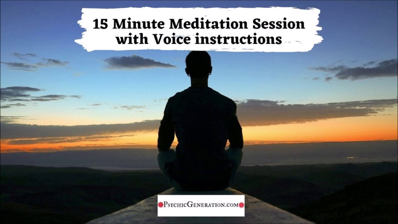 15 Minute Guided Meditation for Stress Anxiety and ...