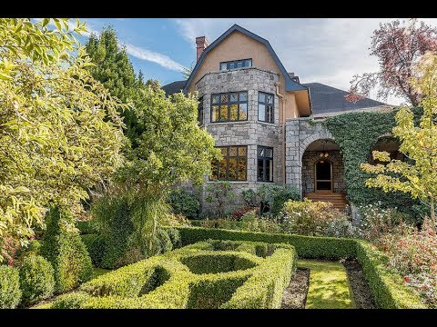 Historic 1972 Mansion from the 1993 film 'The Crush' in Vancouver B.C. Canada