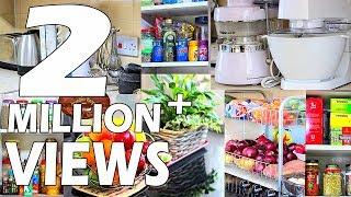 देखिये कैसे सजाए अपना किचन | SMALL KITCHEN TOUR | kitchenorganization | Kitchen Storage Ideas