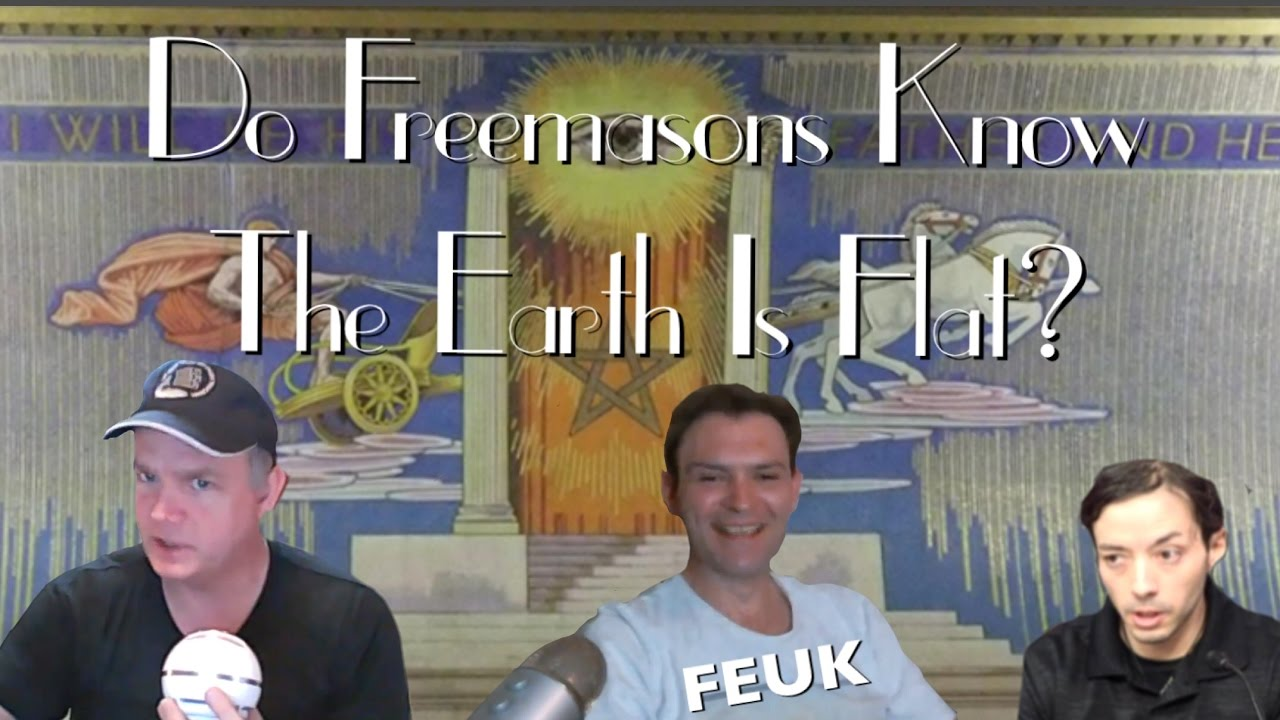 Is Freemasonry Behind Flat Earth Theory? | Freemason ... |Flat Earth Freemasons Know