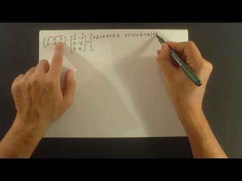 Matrice. Mnozenje matrica. Kako se mnoze matrice? Da li je mnozenje matrica komutativno?