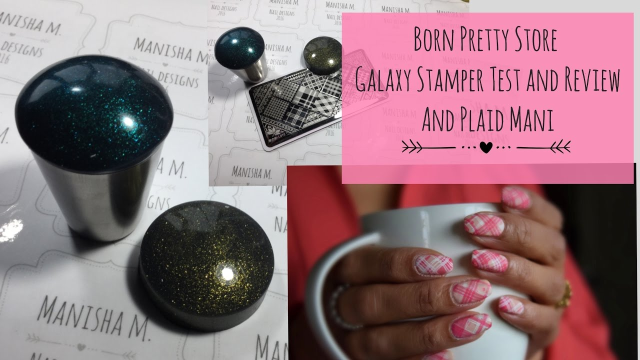 Pink plaid nail art born pretty galaxy stamper test l010 plaid pink plaid nail art born pretty galaxy stamper test l010 plaid plate 10off code manhx31 prinsesfo Choice Image