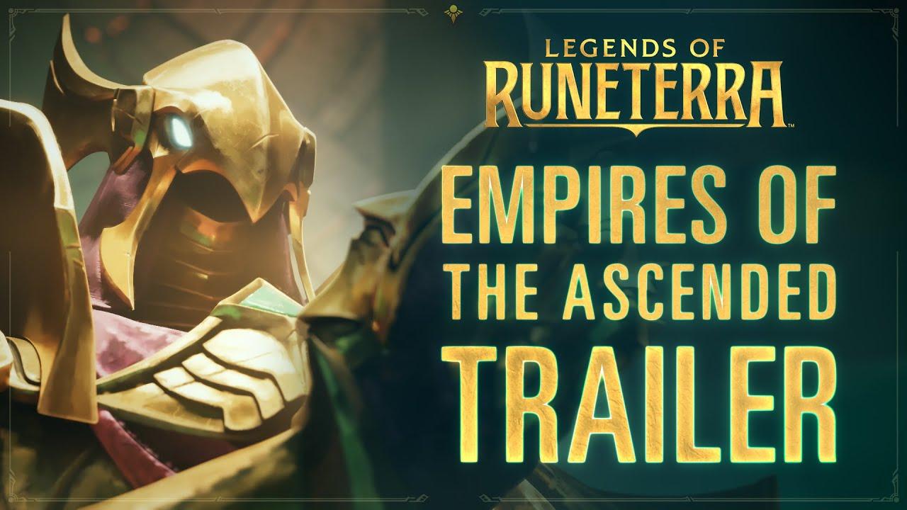 A Riot Games anuncia expansão para Legends of Runeterra