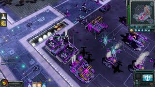 Harbinger Madness Red Alert 3 Uprising , 3v3 Skirmish Vs Brutal Ai , Live Gameplay , HD