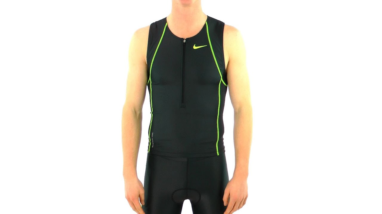 0a123688c49c5 Nike Triathlon Men s Sleeveless Singlet