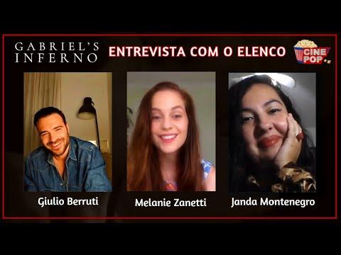 Giulio Berruti e Melanie Zanetti se emocionam sobre O Inferno de Gabriel
